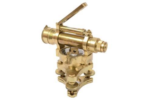 古测量工具/6099-古代 黄铜水平仪/更多信息