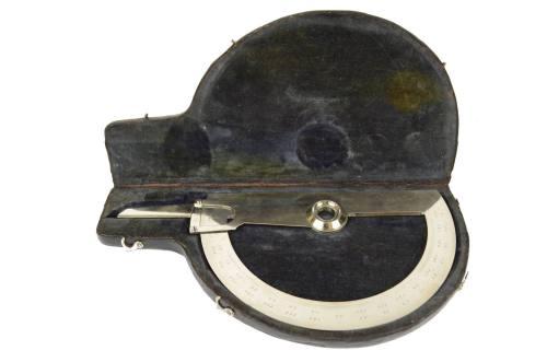 航海类古董/6249-雕刻镀铬黄铜航海仪器/更多信息