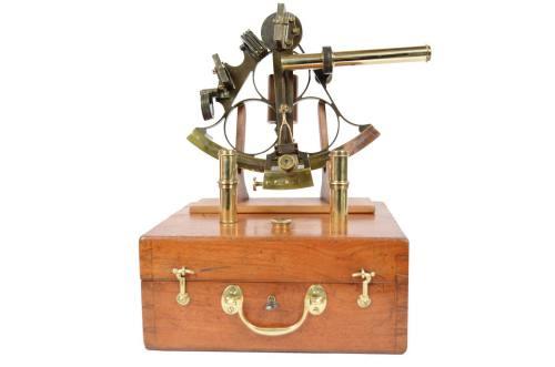 航海类古董/6294-大约十九世纪中期的六分仪/更多信息