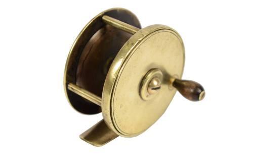航海类古董/6339-黄铜钓鱼卷轴/更多信息