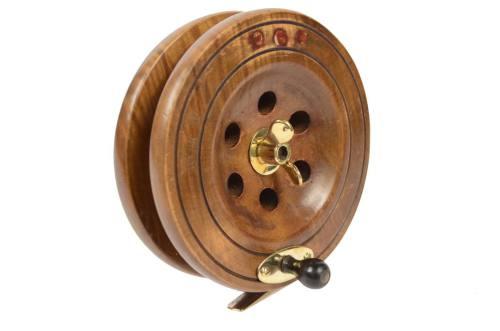 航海类古董/6341A-黄铜钓鱼卷轴/更多信息