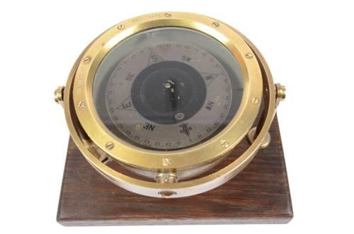 代码 6365-黄铜和青铜液体指南针
