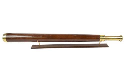 航海类古董/6463-大型黄铜望远镜/更多信息