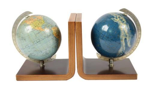 Globi-mappamondi antichi/6482-Coppia di fermalibri/Più info