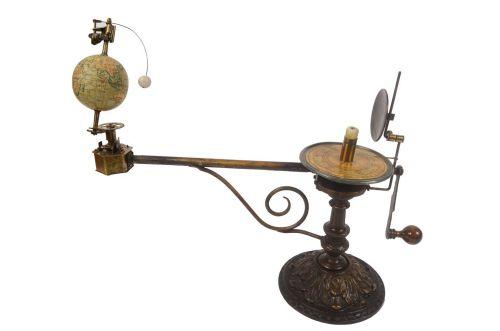 Strumenti astronomici antichi/6495-Planetario epoca/Più info