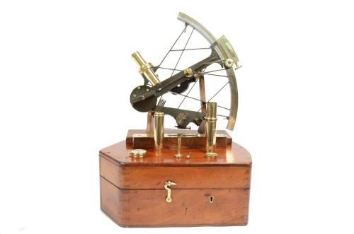 航海类古董/6538A-古董六分仪/更多信息