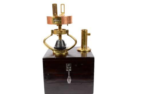 航海类古董/A72-航海用量角器黄铜质地/更多信息